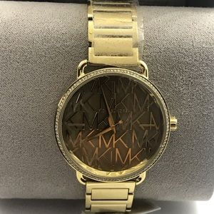 Brand New Micheal Kors Gold  Watch